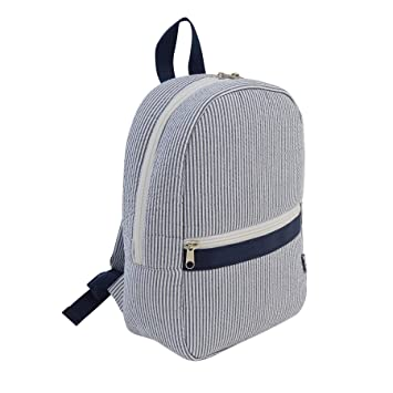 Amazon.com   Mud Pie Seersucker Backpack for Child 15290aa02bb80