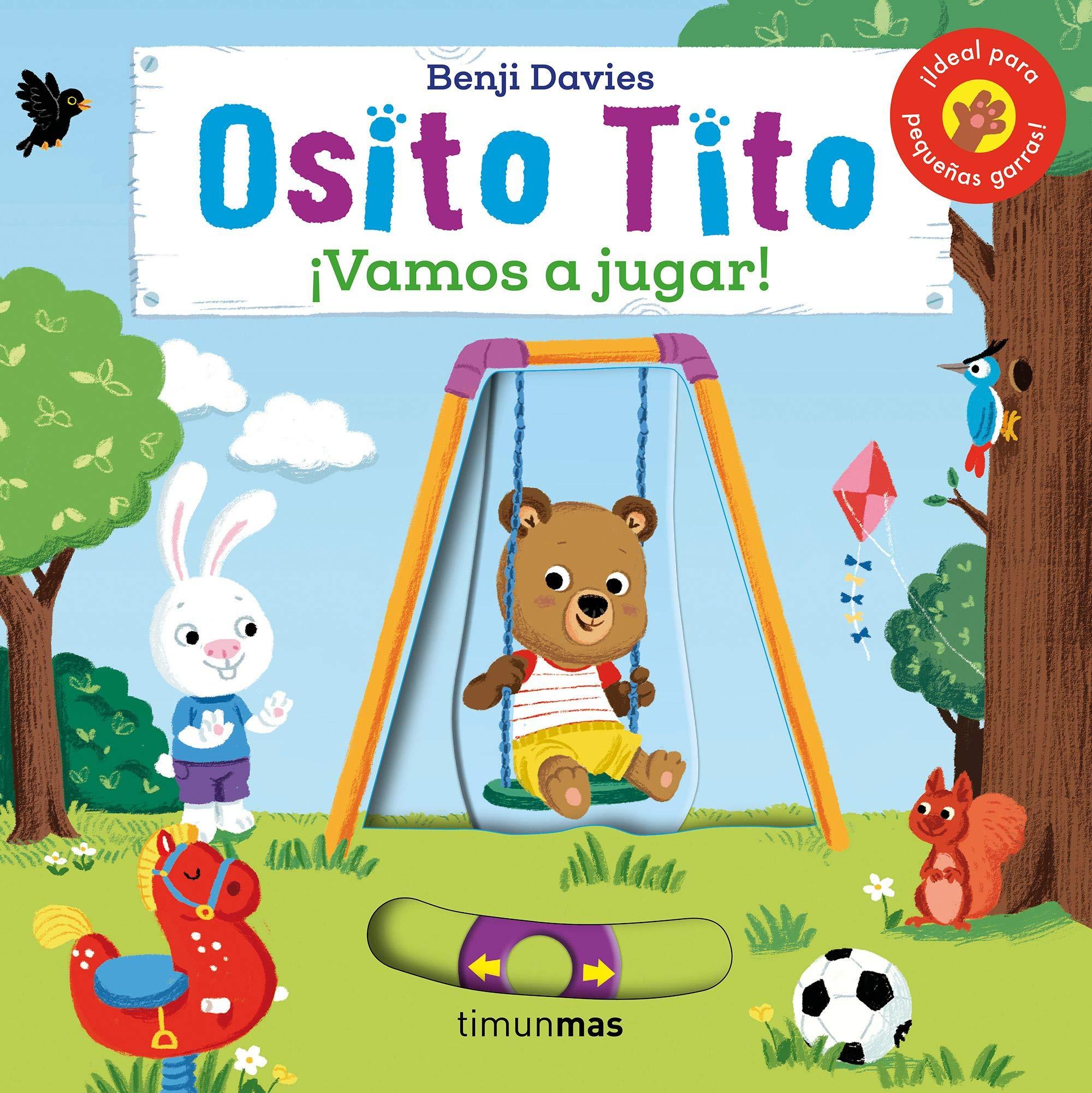 Osito Tito. ¡Vamos a jugar!: Amazon.es: Davies, Benji, Editorial Planeta S.  A.: Libros