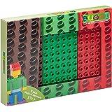 Buggi Toys Grundplatten Set 9 Stück groß 12 x 6 Noppen