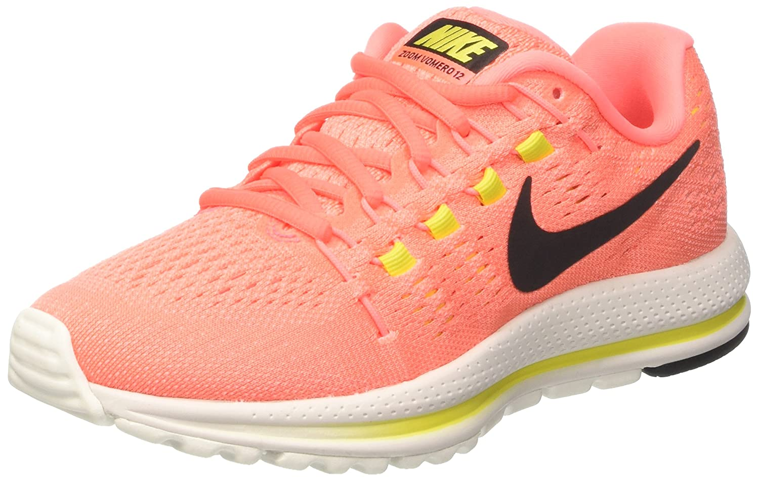 new product 22eef a2aa5 Amazon.com   Nike Women s AIR Zoom Vomero 12 Running Shoes 863766-600 Size  5 D(M) US   Road Running