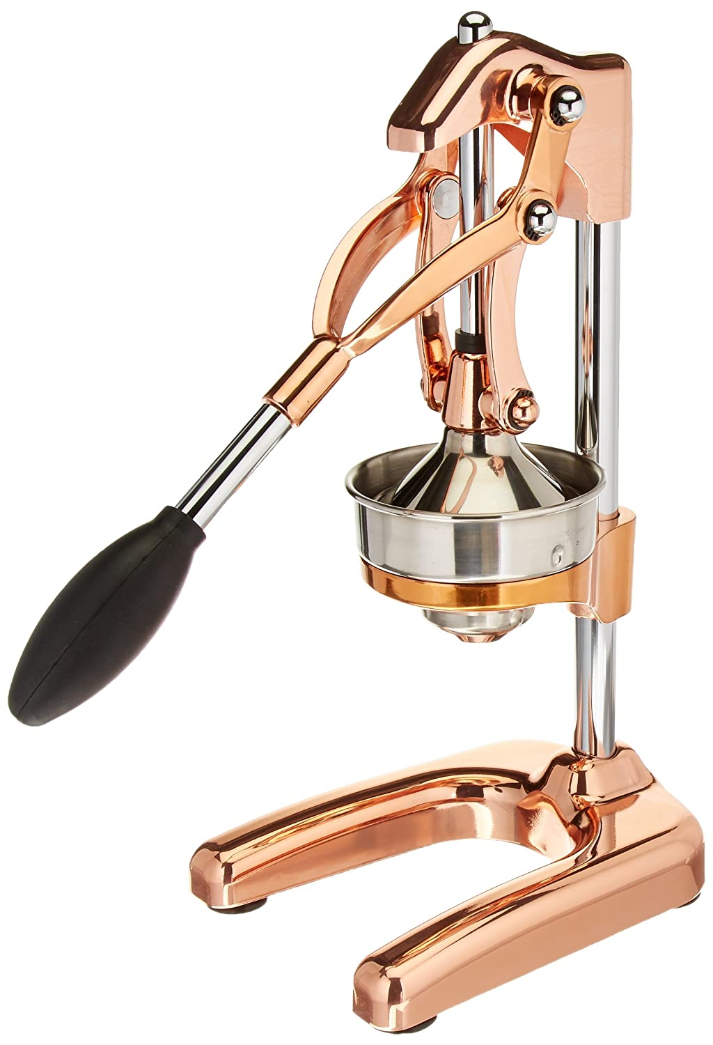 Cilio Commercial Grade Citrus Press Juicer, Copper