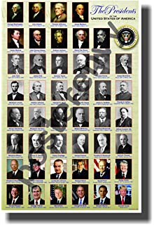 Amazon.com: The New Poster of the Presidents of the United States ...