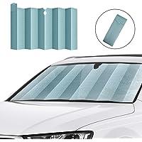 HUAZAI Flying Pig Windshield Sunshade Foldable UV Ray Reflector Decorative Front Window Sun Shade Visor Shield Cover