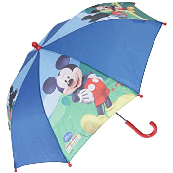 Niños/niños Disney Mickey Mouse/Minnie Mouse, diseño de paraguas ...