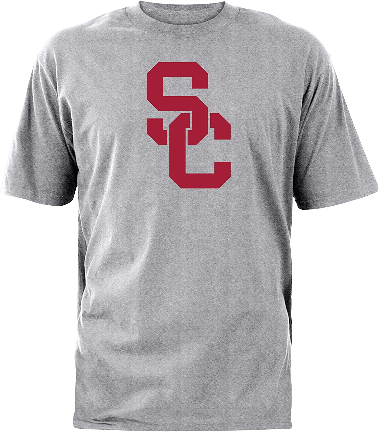 University of Southern California Authentic Apparel NCAA Mens Short Sleeve Cotton Tee