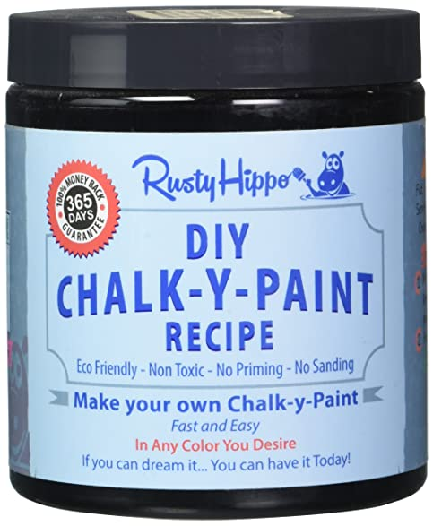 amazon com diy chalk paint powder make your own chalk paint in any