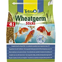 Tetra Pond Wheat Germ Sticks, Pond Fish Food Specially Formulated for Cold Weather Feeding, 4 Litre