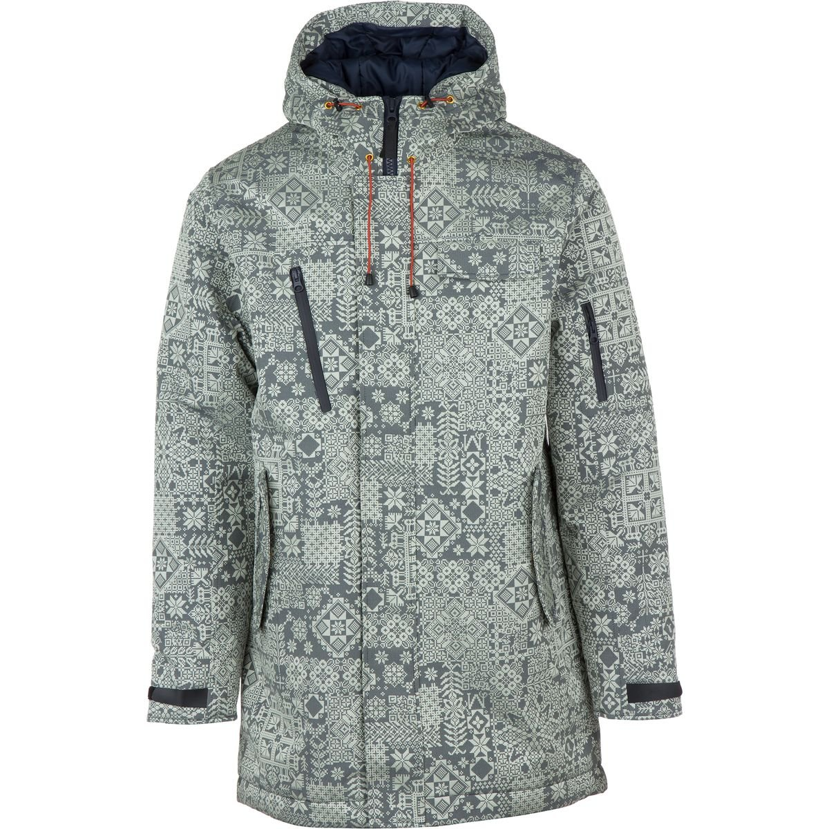 WeSC - Langdon Hooded Jacket - Blue Iris