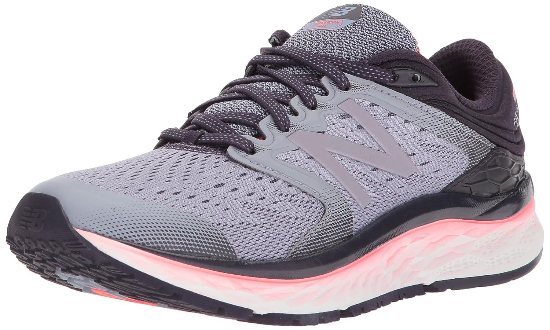 New Balance Women's 1080v8 Fresh Foam Running Shoe B06XRTX4YH 8 D US|Elderberry/Vivid Coral