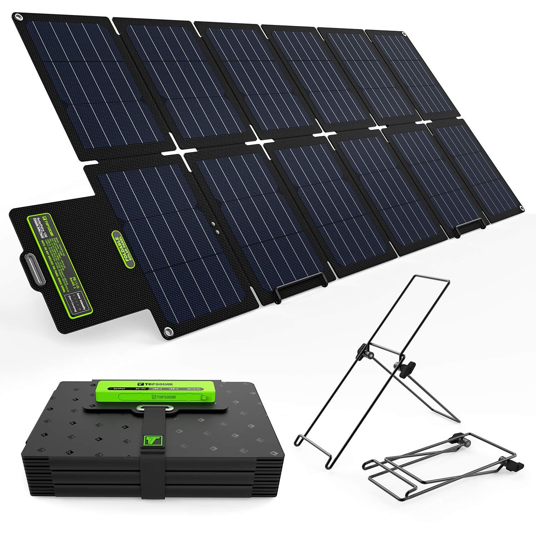 TP-solar 100W Foldable Solar Panel Charger Kit