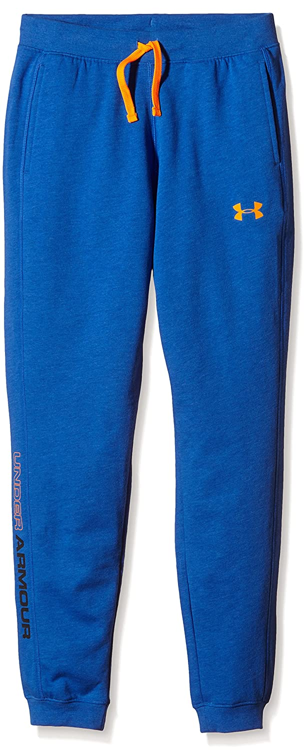 Kids Under Armour Boys Tri-Blend Fleece Jogger Pant, Ultra Blue, YXS 1274664