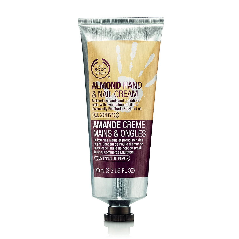 The Body Shop Mandorla Crema Mani e Unghie unisex, Mandorla Crema Mani e Unghie 30 ml, 1-pack (1 x 30 ml) KBH3104