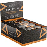 Amazon Brand -Amfit Nutrition Protein Bar Chocolate Caramel 12-pack  (12 x 60g)