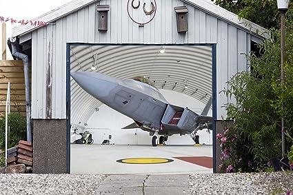 Amazon Billboard Full Color Single Garage Door Airplane Covers