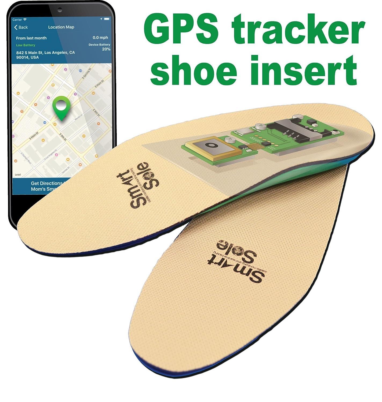 GPS tracker shoe insert