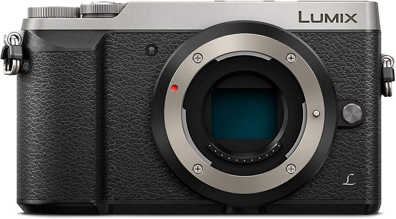 Panasonic Lumix DMC-GX80EG - Cámara digital (16 MP, 4592 x 3448 Pixeles, Live MOS, 4K Ultra HD, Pantalla táctil, Plata) (versión importada)