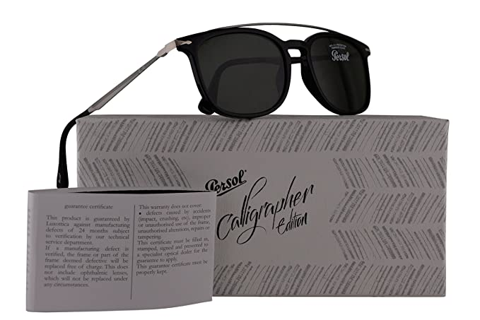 54be5590f8755 Image Unavailable. Image not available for. Colour  Persol PO3173S Calligrapher  Edition Sunglasses ...