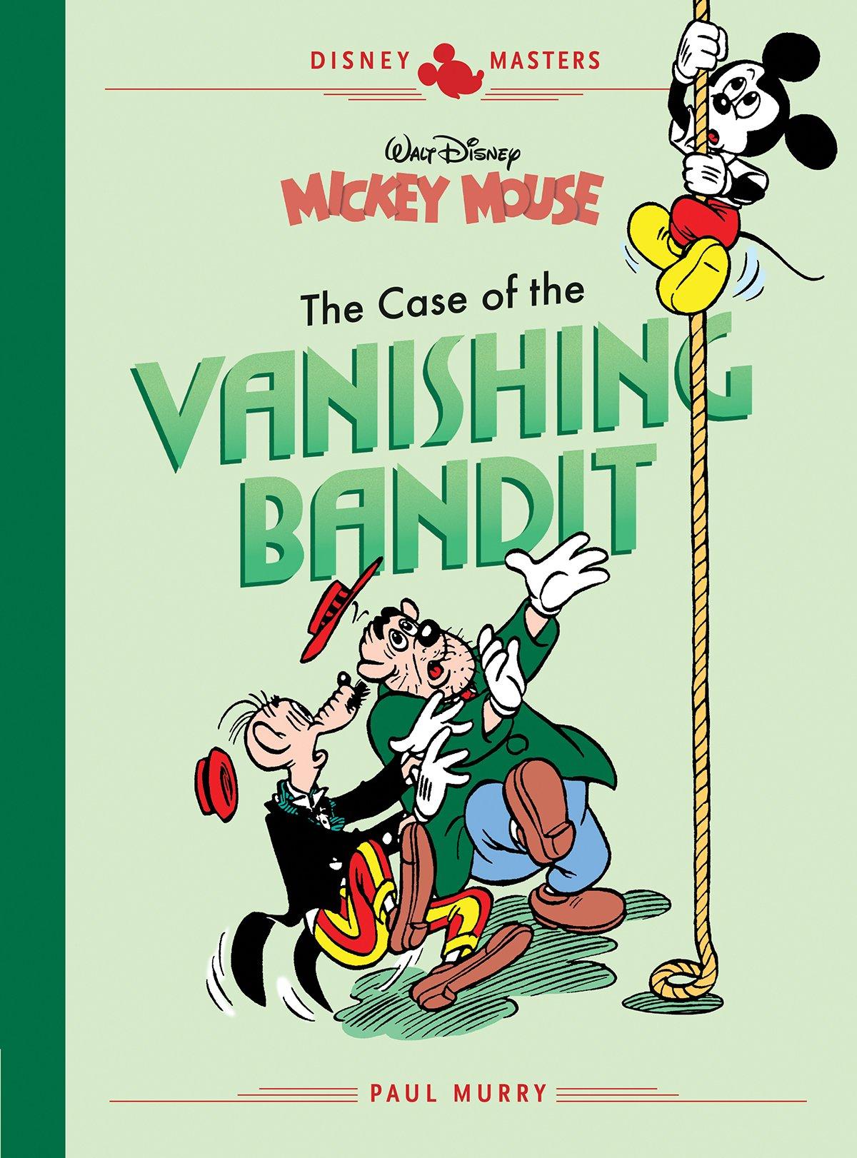 Disney Masters Vol. 3: Paul Murry: Walt Disney's Mickey Mouse: The Case Of The Vanishing Bandit
