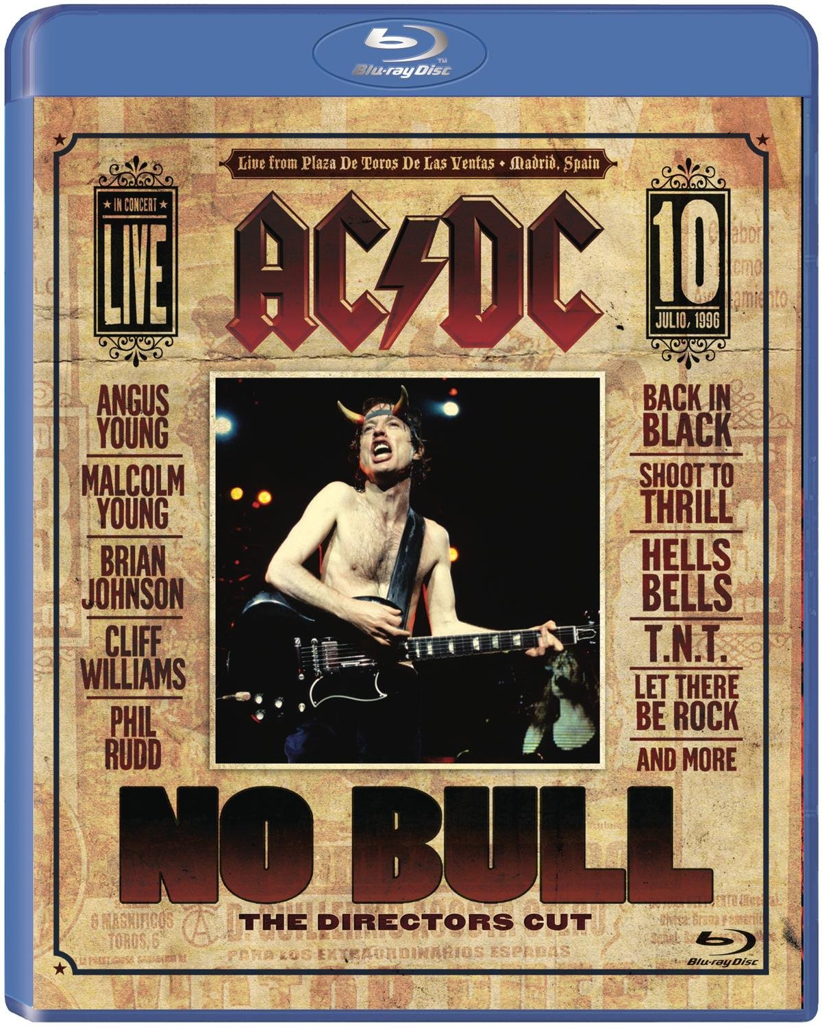 Blu-ray : AC/DC - AC / DC: No Bull: The Director's Cut (Blu-ray)