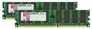Kingston 2GB KIT 400MHZ DDR PC3200 (KVR400X64C3AK2/2G) (2 x 1 GB)