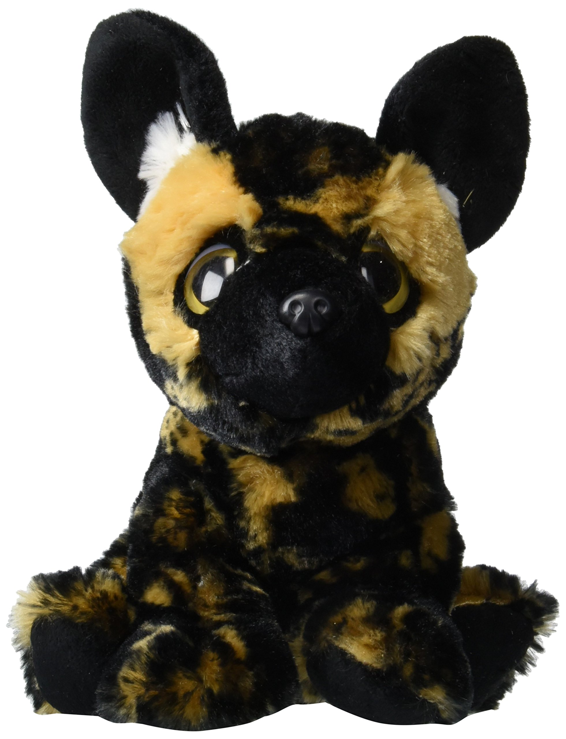 Wishpets Stuffed Animal - Soft Plush Toy for Kids - 9'' Big Eyes Wild Dog