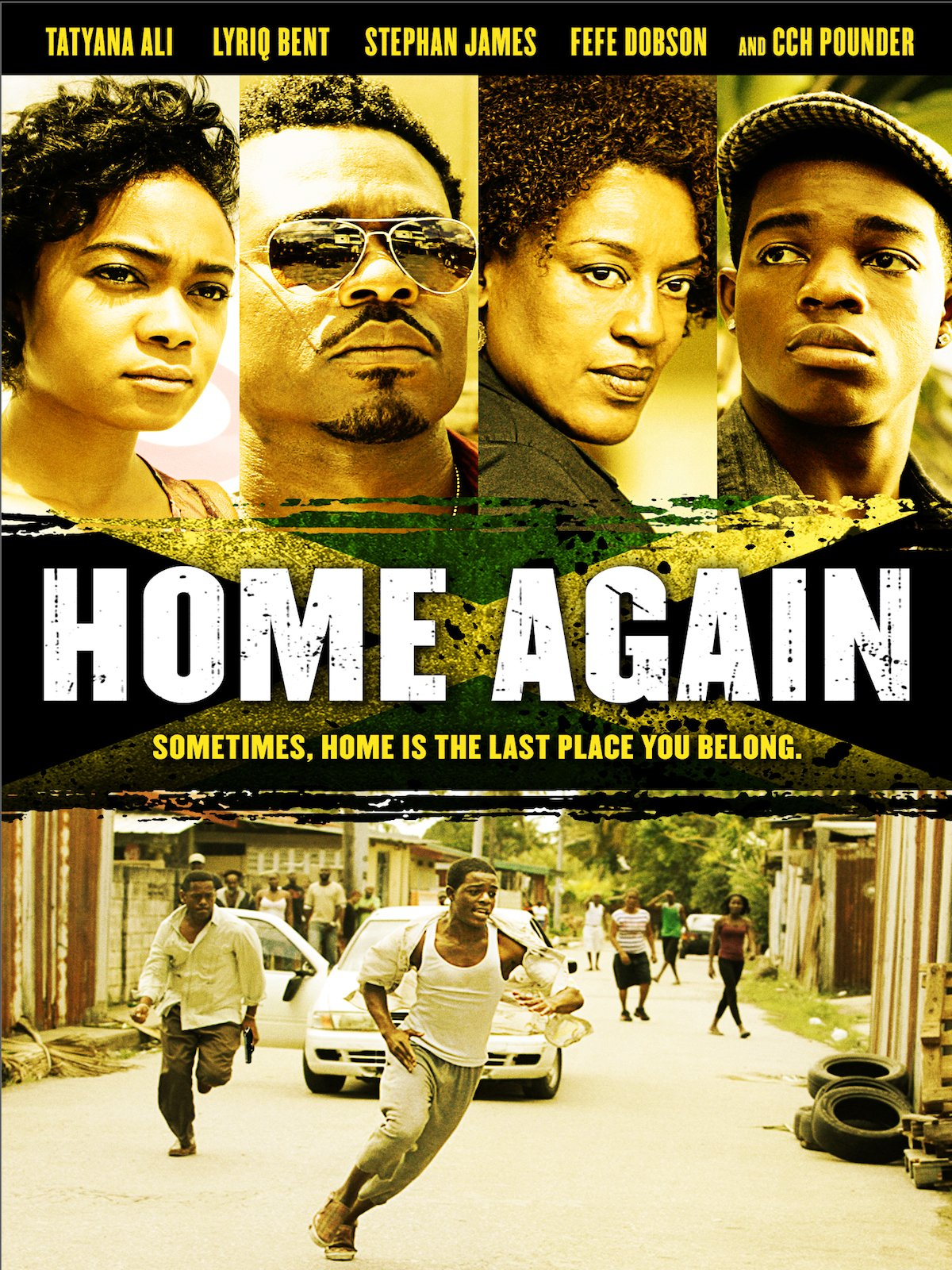 Amazoncom Home Again Tatyana Ali Lyriq Bent Cch Pounder