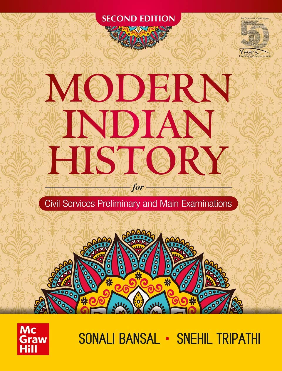 Modern Indian History – Second Edition   For Civil Services Preliminary and Main Examinations