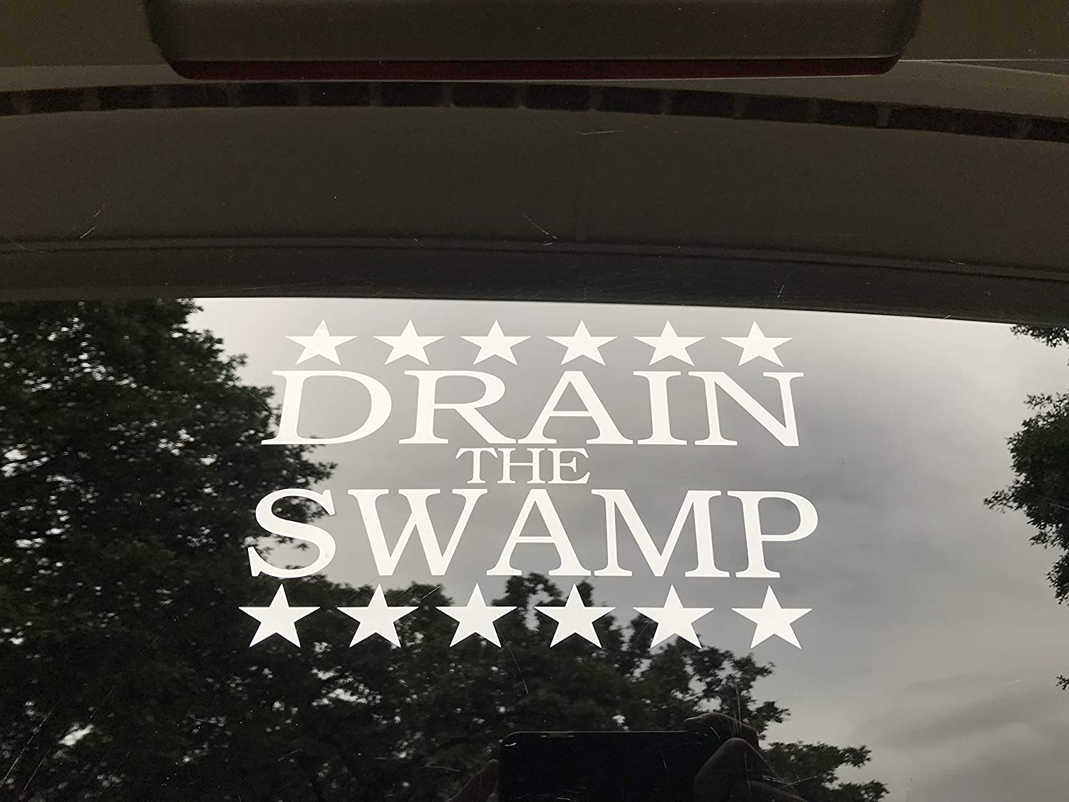 Drain The Swamp Sticker Donald Trump President 2016 Campaign MakeAmericaGreat