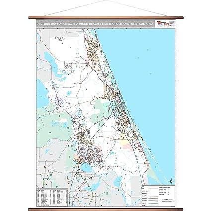 Amazon.com: MarketMAPS Deltona-Daytona Beach-Ormond Beach, FL Metro ...
