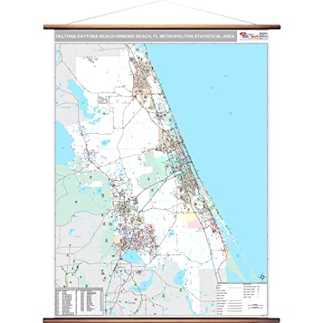 Amazon.com: MarketMAPS Deltona-Daytona Beach-Ormond Beach ...