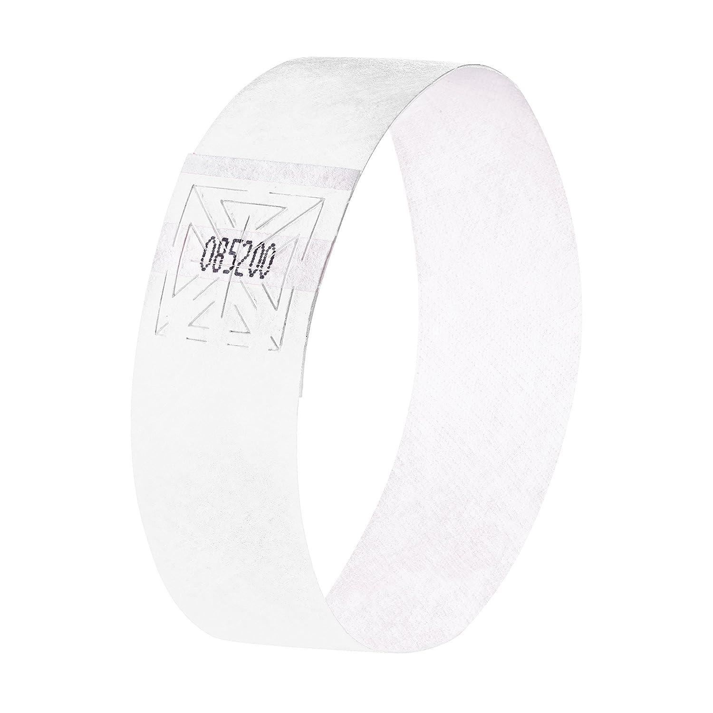 black SIGEL EB215 Event Wristband 120 pcs. soft 25.5 x 2.5 cm