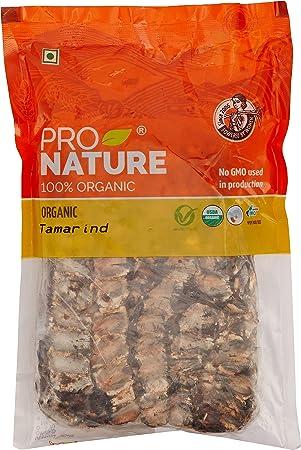 Pro Nature 100% Organic Tamarind, 500g