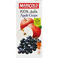 Marigold 100% Juice, Apple Grape, 1L
