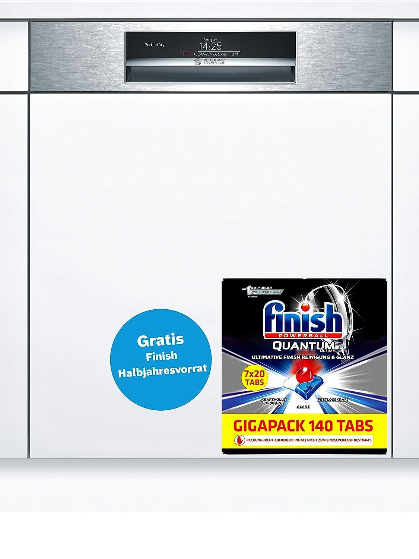 edelstahl Bosch Home SMI88TS36E Spülmaschine
