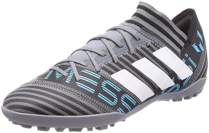 adidas Nemeziz Tango 17.4 in, Chaussures de Football Homme, Noir (Cblack/Cblack/Solred Cblack/Cblack/Solred), 42 EU