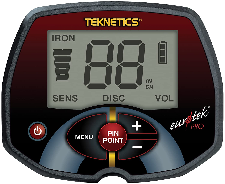 Teknetics EuroTek PRO Metal Detector with 8-Inch Concentric Coil: Amazon.es: Electrónica
