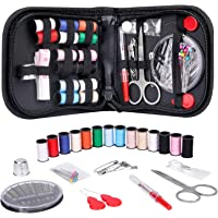 Coquimbo Sewing Kit for Traveler, Adults, Beginner, Emergency, DIY Sewing Supplies Organizer Filled with Scissors…