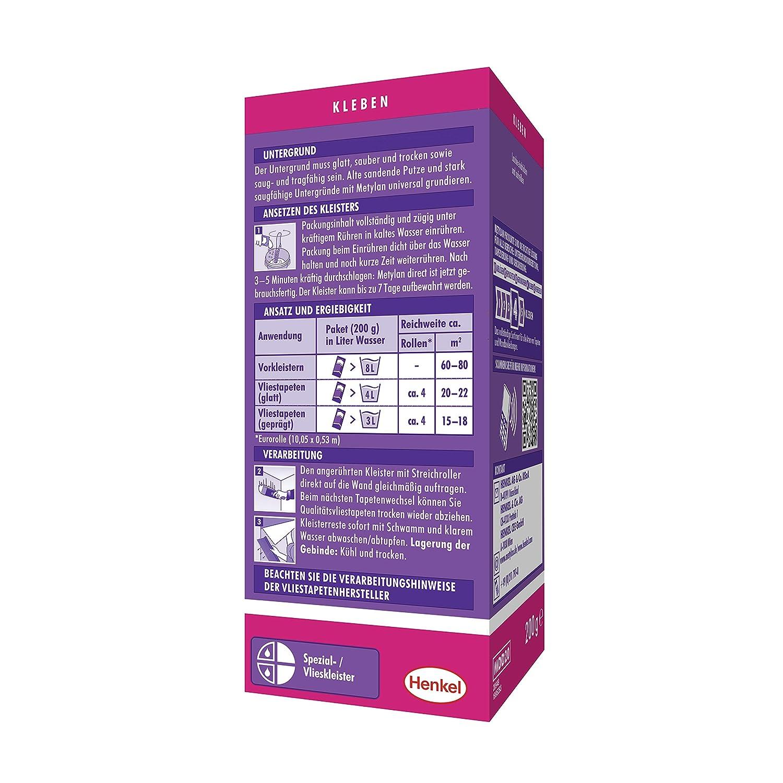 Cola especial para papeles pesados y vin/ílicos Metylan Metylan Special 200G