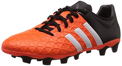 official photos 3e5e0 d0d2b adidas Performance ACE15.4 FxG, Chaussures de Football Homme, (Solar Orange