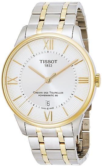 Tissot T0994072203800 - Reloj de pulsera hombre, acero inoxidable, color Bicolor: Amazon.es: Relojes