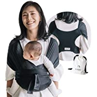 Konny Baby Carrier Summer | Ultra-Lightweight, Hassle-Free Baby Wrap Sling | Newborns, Infants to 44 lbs Toddlers | Cool…