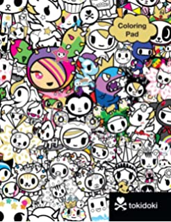 tokidoki coloring pad - Tokidoki Donutella Coloring Pages