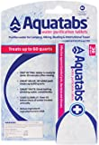 Aquatabs Water Purification Tablets for Camping and Emergency Preparedness, 30-Pack