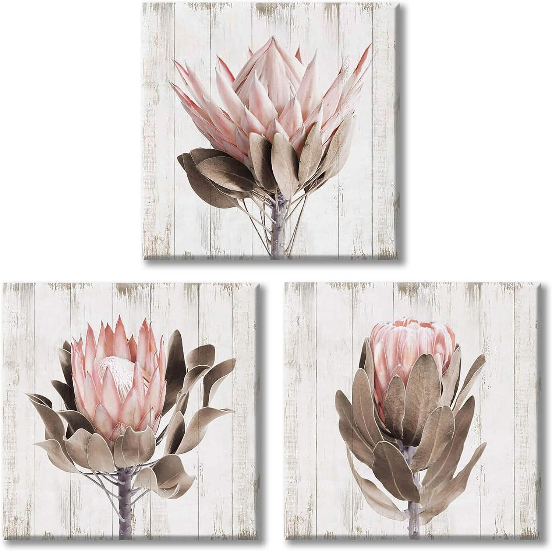 Floral Artwork Protea Art Print Unframed Pink Protea Art Protea Photography Modern Botanical Art