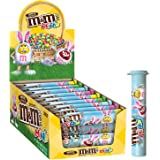 M&M'S Easter Milk Chocolate MINIS Size Candy in Tubes 1.77-Ounce Tube 24-Count Box