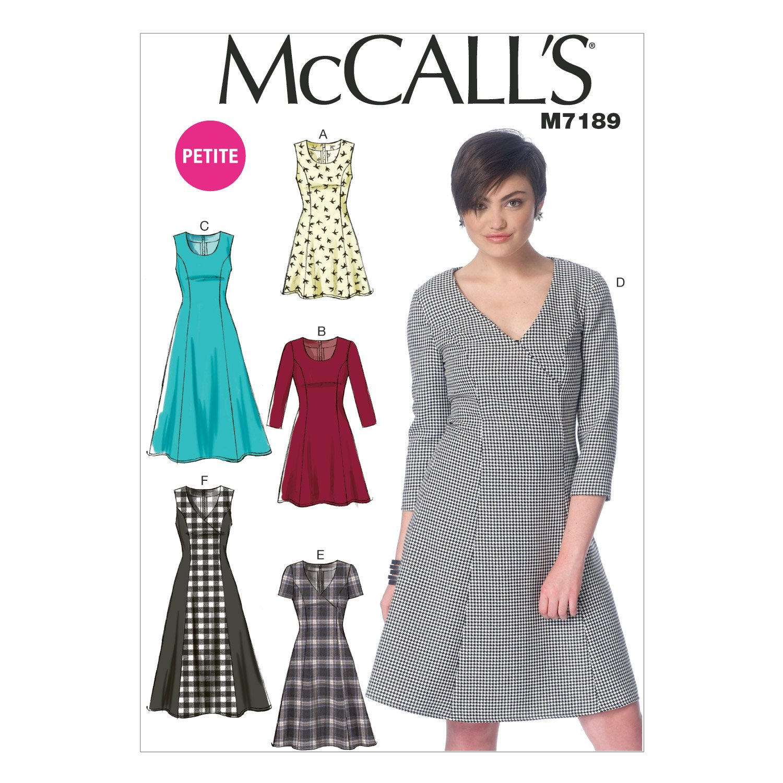 McCall' s Patterns Misses/Miss Petite abiti The McCall Pattern Company M7189E50