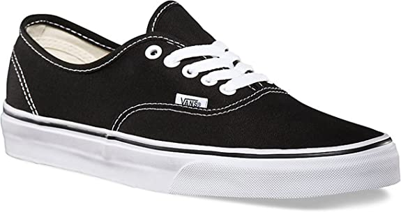 Canvas VN000EE3BLK Mens 7.5, Womens
