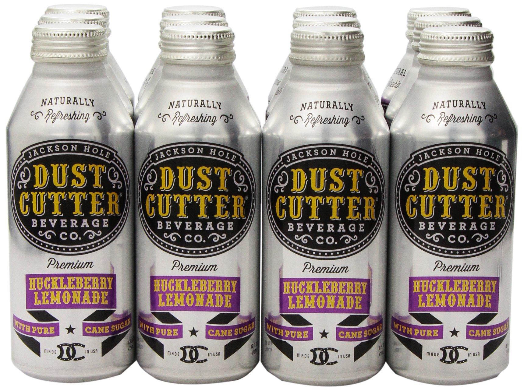Dust Cutter Lemonade, Huckleberry, 16 Ounce (Pack of 12) by Dust Cutter