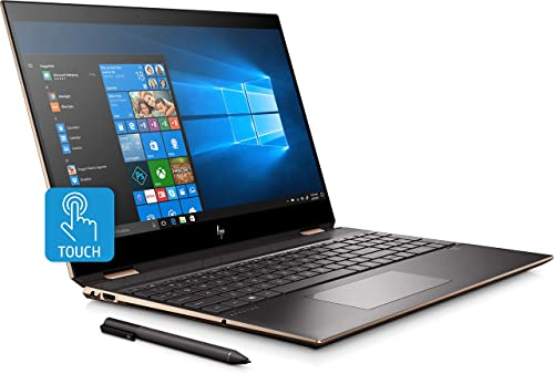 "HP - Spectre x360 2-in-1 15.6"" 4K Ultra HD Touch-Screen Laptop"