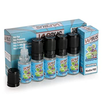 5*10ml Vape Liquid, VAPBUS Heisenberg E Liquid 70VG 30PG for E Cigarette E